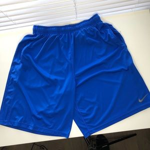 Nike Training Run Basketball Shorts Blue size XXL